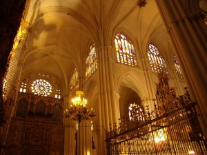 Imagen: Interior de la Catedral de Toledo