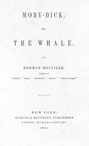 Moby Dick, The Whale