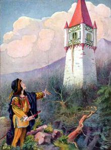 Ilustración: Rapunzel