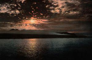 Imagen: Rayo de luna en el mar
