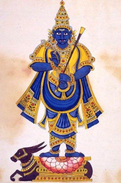 Yama, el dios de la muerte