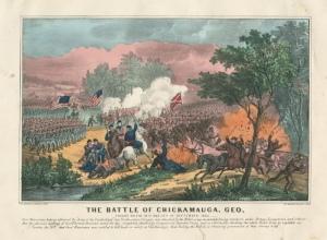 Imagen original de la Batalla de Chickamauga