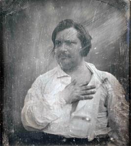 Retrato de Honoré de Balzac