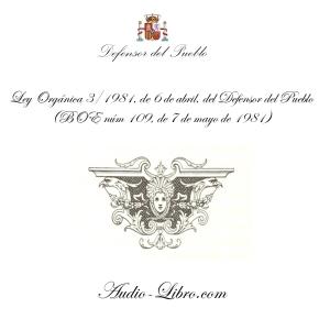 Ley Orgánica 3/1981