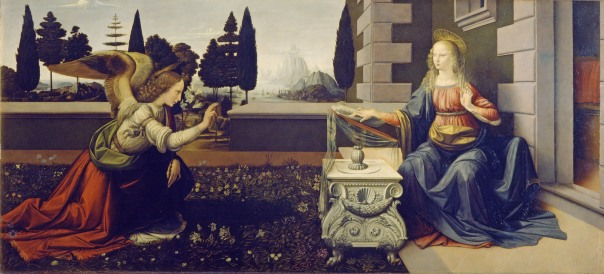 Mercedes Menchero : La Anunciación : Imagen