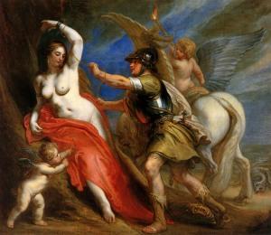 Cuadro: Thulden van Theodoor : Perseus frees Andromeda Sun