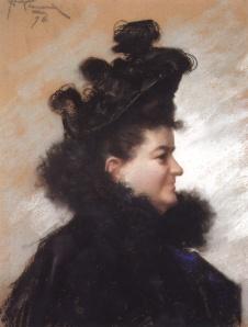 Retrato de Emilia Pardo Bazán