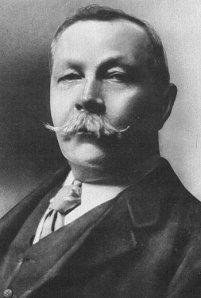 Arthur Conan Doyle, retrato