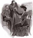 Ilustración original de Las Aventuras de Sherlock Holmes