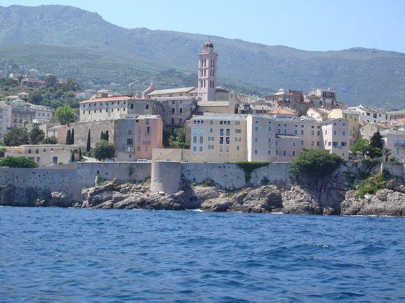 Imagen Bastia desde el Mar