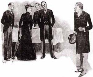 Ilustración original del aristócrata solterón