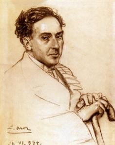 Retrato de Antonio Machado