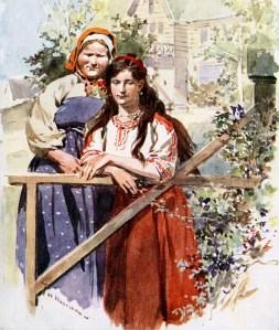 Ilustración de 1910 : Lida y Misius : Casa con desván