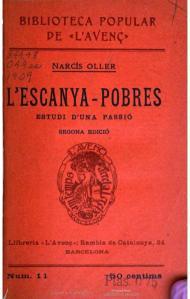 L'escanya-pobres (1909), Texto original
