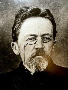 Última foto que se sepa en la vida de Anton Chejov en 1904