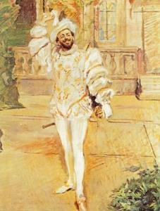 Francisco D'Andrade en el papel de Don Giovanni