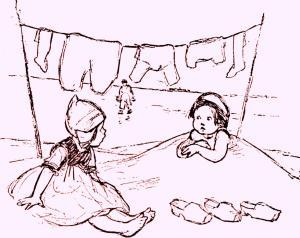 José Martí: Poesía: Los zapaticos de rosa