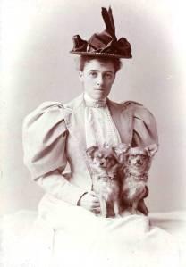 Fotografía de Edith Wharton, 1889