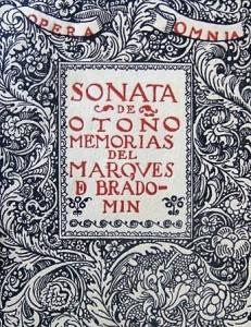 Sonata de Otoño, libro