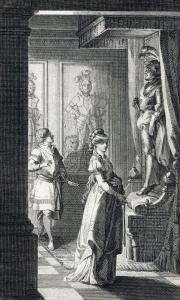 Ilustración de una edición de El Castillo de Otranto