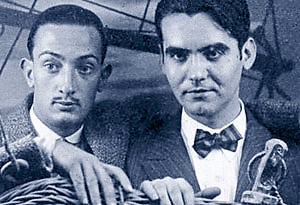 Imagen: Lorca y Dalí