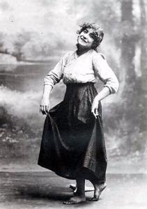 Fotografía de Margarita Xirgu como Marianela